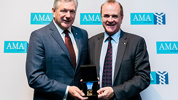 #114 Doctors honoured at AMA Victoria Awards Night
